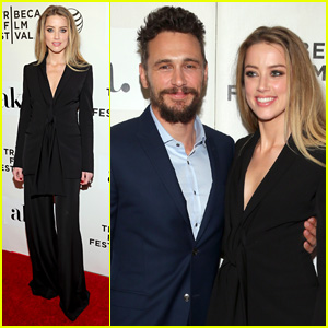 James Franco & Amber Heard Bring 'The Adderall Diaries' to Tribeca Film Festival 2015