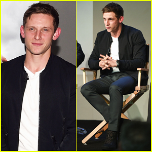 Jamie Bell Joins 'Turn: Washington's Spies' Cast at Apple Screening Ahead of Season Two Premiere!