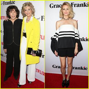 Jane Fonda, Lily Tomlin, & Brooklyn Decker Premiere 'Grace And Frankie' Ahead of Netflix Debut!