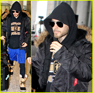 Jared Leto Arrives in Toronto to Begin Filming 'Suicide Squad'