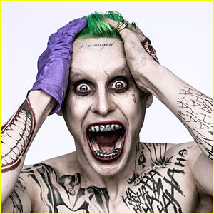 Jared Leto Looks Epic as The Joker in Brand New 'Suicide Squad' Pic!