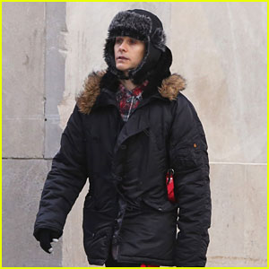 Jared Leto Bundles Up For Brunch in Toronto