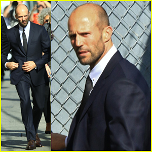Jason Statham Teaches Jimmy Kimmel How To Throw Convincing Punch - Watch Here!