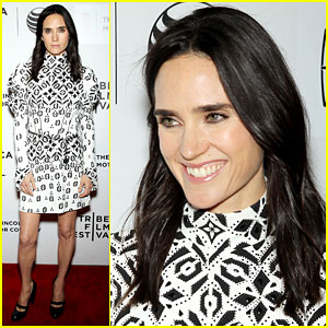 Jennifer Connelly Hits the Red Carpet for 'Aloft' Premiere