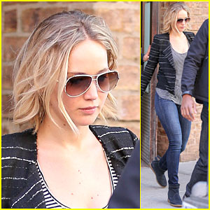 Jennifer Lawrence Takes a Break From Filming & Heads to NYC