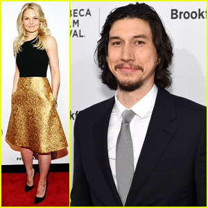 Jennifer Morrison & Adam Driver Both Step Out at TIFF 2015