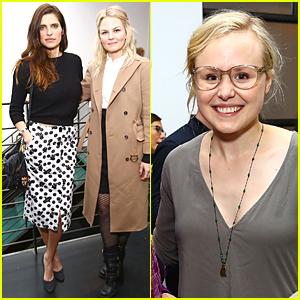 Jennifer Morrison & Lake Bell Are Strong Driven Women at Tribeca Brunch