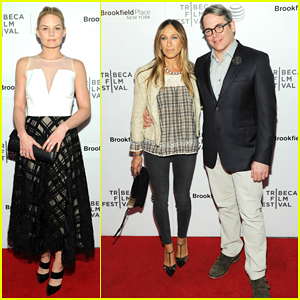 Jennifer Morrison & Sarah Jessica Parker Join Matthew Broderick at 'Dirty Weekend' Premiere!