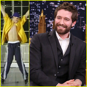 Jimmy Fallon Surprises Matthew Morrison with Throwback Hip-Hop Dance Video of Him - Watch Here!