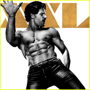 Joe Manganiello's Shirtless 'Magic Mike XXL' Poster Is Here!