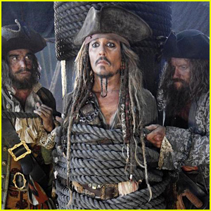 Johnny Depp as Jack Sparrow in 'Pirates 5' - See the First Photo!