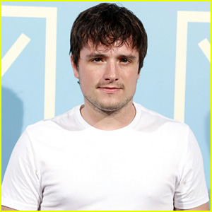 Josh Hutcherson Supports Girlfriend Claudia Traisac in Spain