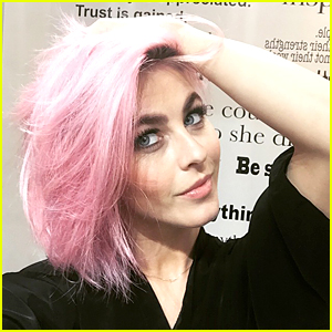 Julianne Hough Dyes Her Hair Pink - See the Pic!