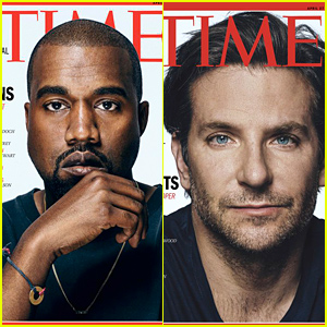 Kanye West & Bradley Cooper Cover Time's 100 Most Influential People - See Who Else Made the List!
