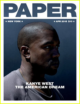 Kanye West Covers 'Paper,' Is Fully Clothed Unlike His Wife!