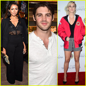 Kat Graham, Steven R. McQueen, & Claire Holt Reunite at City Year Spring Break 2015