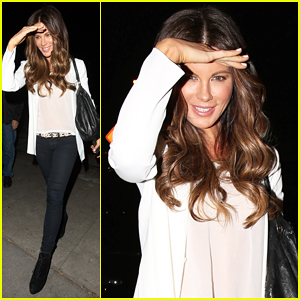 Kate Beckinsale Says Journalists & Actors 'Share Some Qualities'