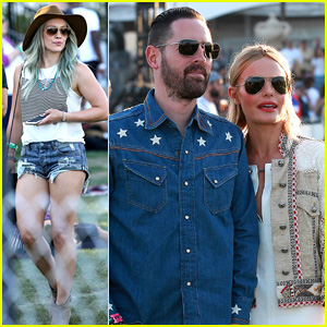 Kate Bosworth & Michael Polish Couple Up for Coachella 2015