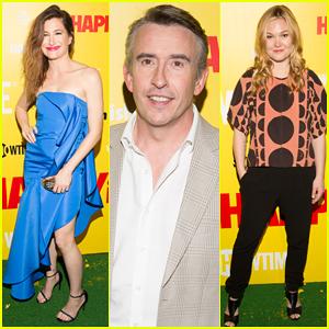 Kathryn Hahn & Steve Coogan Get 'Happyish' in NYC - Watch Full First Episode Here!