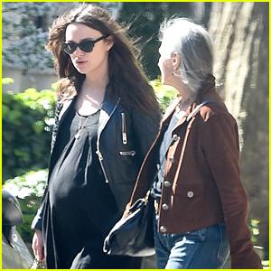 Keira Knightley's Baby Bump Has Gotten So Big!