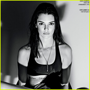 Kendall Jenner Is Ecstatic About Calvin Klein Billboard