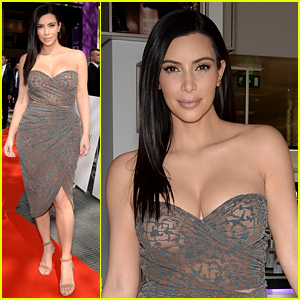 Kim Kardashian Launches Kardashian Beauty Hair in Paris!