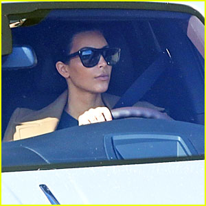 Kim Kardashian Leaves Bruce Jenner's Home After His Emotional Interview