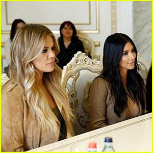 Kim & Khloe Kardashian Meet Armenia's Prime Minister