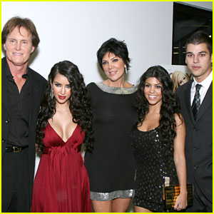 Kim & Rob Kardashian Tweet Kind Words for Bruce Jenner