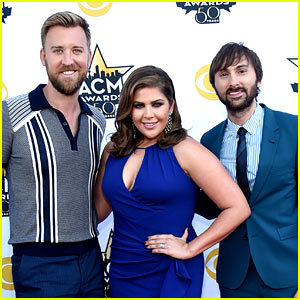 Lady Antebellum Attends ACM Awards 2015 After Bus Fire