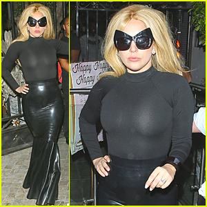 Lady Gaga Gets Police Ticket at Pump Restaurant