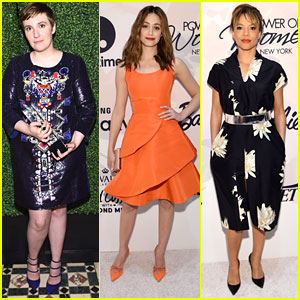 Lena Dunham Speaks Out About Her Rape At Variety's Power of Women Event in New York
