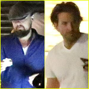 Leonardo DiCaprio & Bradley Cooper Dine Out at Nobu