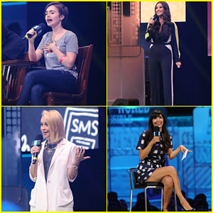 Lily Collins, Hannah Simone & More Celebrate We Day Seattle 2015