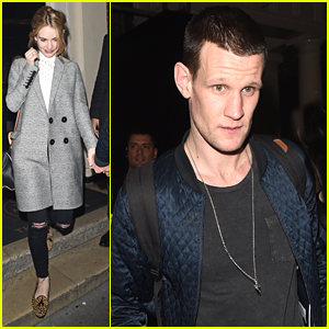 Lily James Supports Boyfriend Matt Smith At 'Lost River' Screening