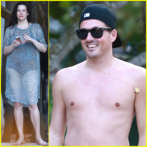 Liv Tyler Shows Off Her Post-Baby Body During Beach Vacation