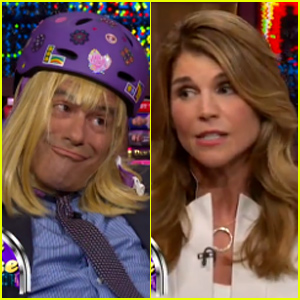 Lori Loughlin Reenacts Full House Scene With Andy Cohen As