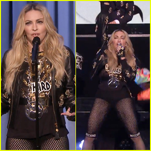 Madonna Makes Her Stand-Up Debut & Performs 'Bitch I'm Madonna' on 'The Tonight Show' - Watch Here!