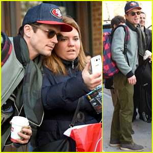 Matt Bomer Gives His Fans Some Love in NYC