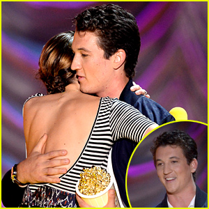 Miles Teller Gushes Over Shailene Woodley During His MTV Movie Awards 2015 Speech - Watch Now