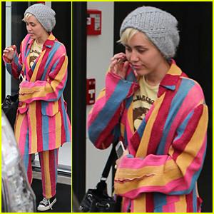 Miley Cyrus Steps Out Following Patrick Schwarzenegger Split
