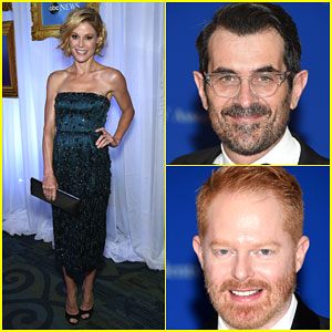 The 'Modern Family' Cast Takes on the WHCD 2015