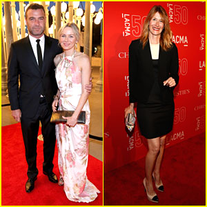 Naomi Watts & Liev Schreiber Celebrate 50 Years of the LACMA