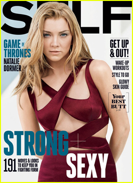 Natalie Dormer Is Strong & Sexy on 'Self' April 2015 Cover