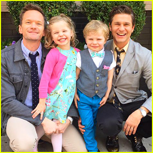 Neil Patrick Harris Shares an Adorable Family Photo on Easter!