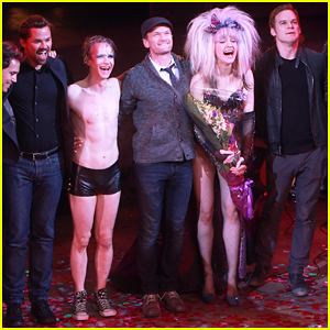 Neil Patrick Harris, Michael C. Hall, & Andrew Rannells Help Lena Hall Take Her 'Hedwig & The Angry Inch' Final Bow!