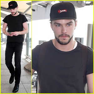 Nicholas Hoult Emerges After Dianna Agron Dating Rumors