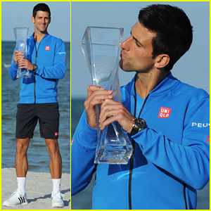 Novak Djokovic Celebrates Fifth Miami Open Title Win After Beating Andy Murray!