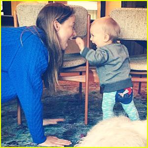 Olivia Wilde Shares Cutest Photo of Her Son Otis!