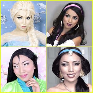 Watch This Woman Transform Into 15 Disney Characters